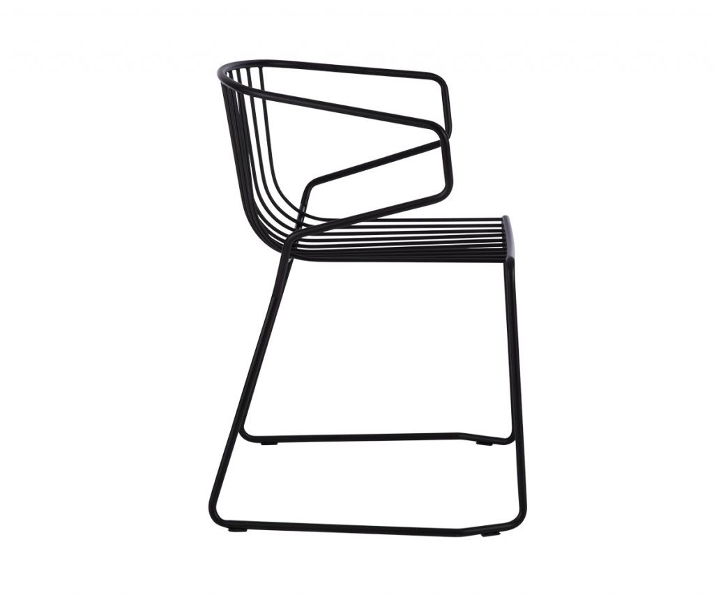 RIVA OUTDOOR STACKABLE DINING CHAIR