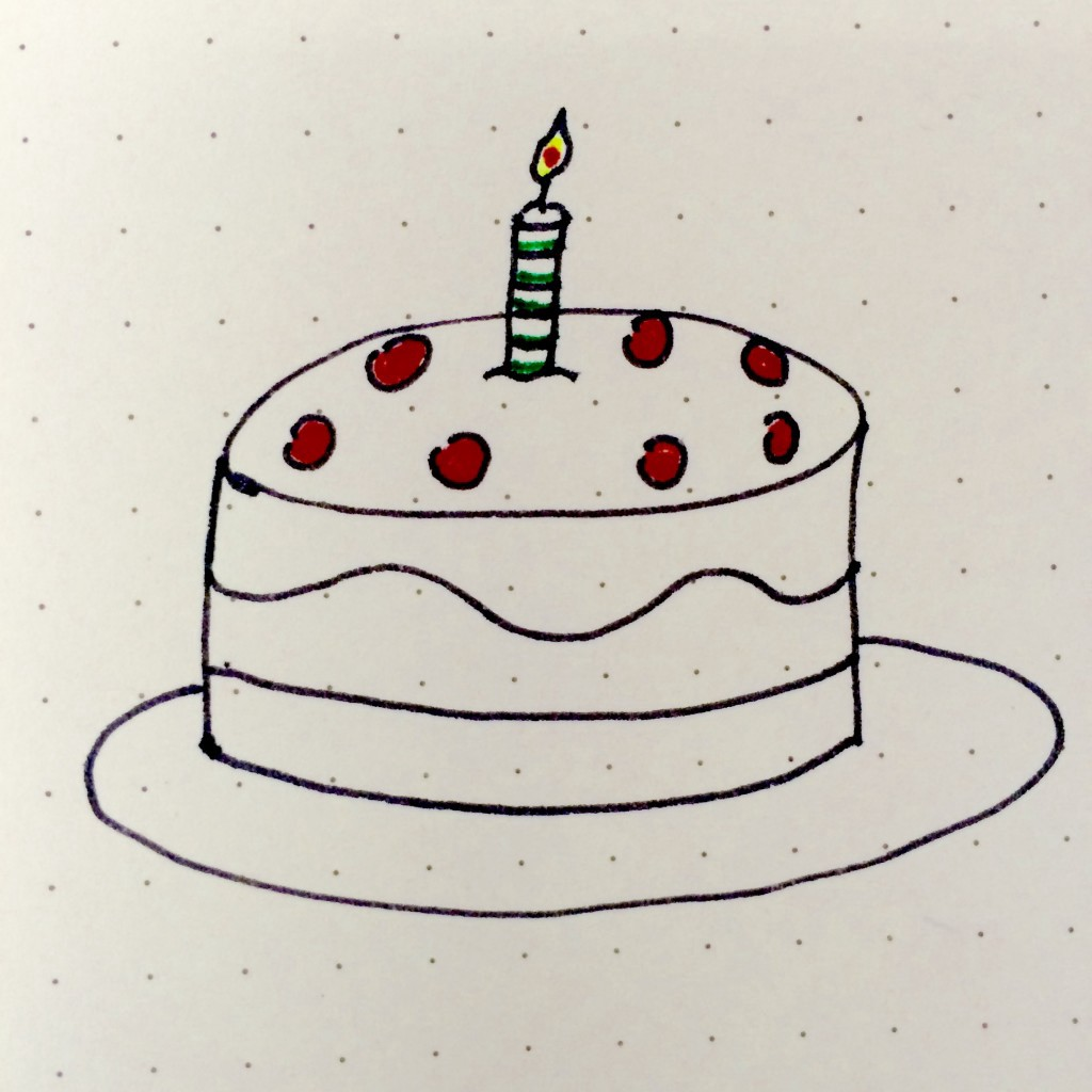 Bullet Journal's Birthday