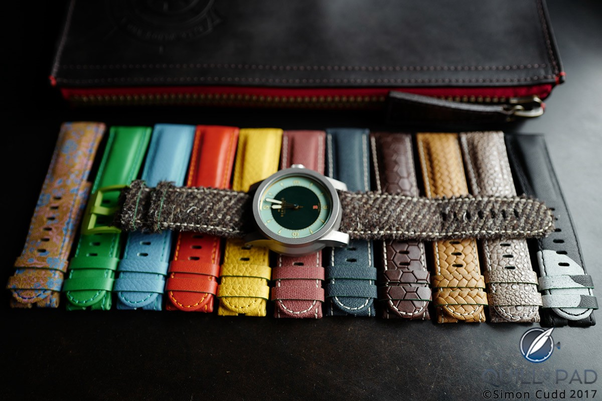 Schofield + Cudd offers a wide palette of colors and a wide variety of materials and textures