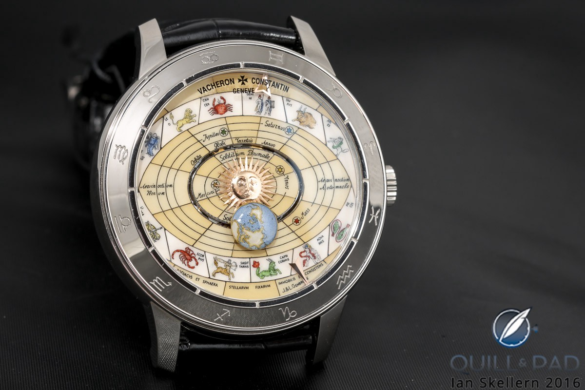 Vacheron Constantin Copernicus with laser-engraved sapphire crystal dial