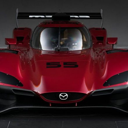 Mazda RT24-P race car produces 600 hp from tiny 2.0 l engine