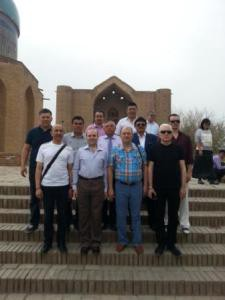 ECTT familiarization trip to Turkestan