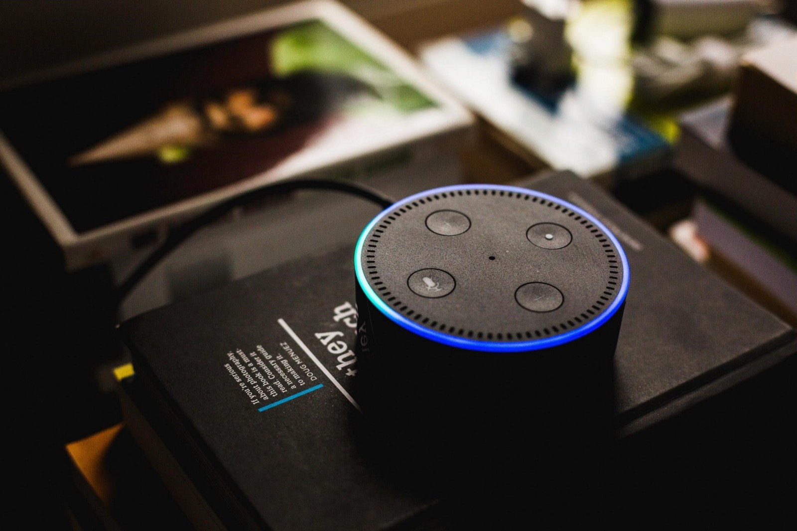 Smart Homes The Way Of Future Plan Collection Medium Clapper Sound Activated On Off Switch 1 Each This Echo Dot Is Part Hardware Family From Amazon That Supports Alexa App Courtesy Unsplash Andres Urena
