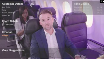 Air New Zealand wants to use augmented reality to see how you feel inflight
