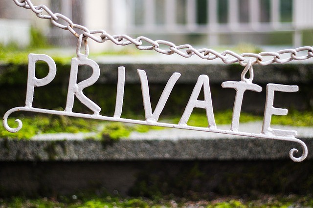 Small Business Expense Planning Domain Privacy