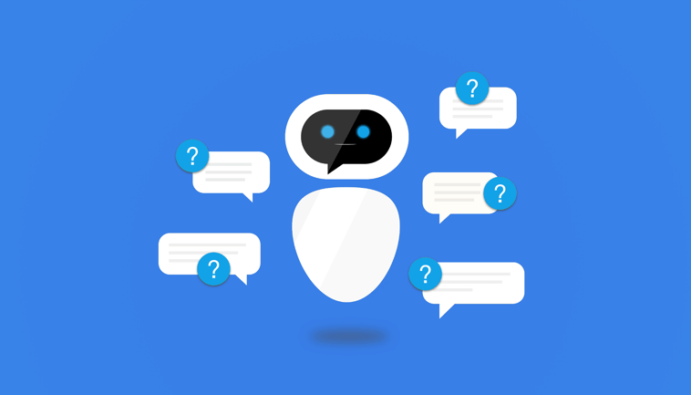 an image of a chat bot