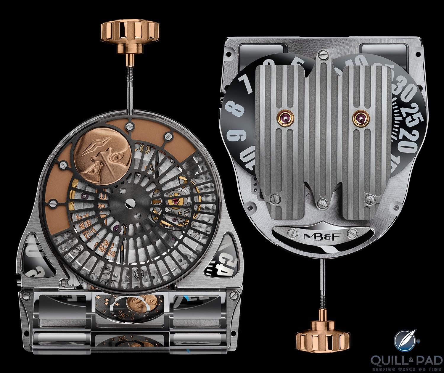 Movement of the MoonMachine 2 by MB&F with Stepan Sarpaneva