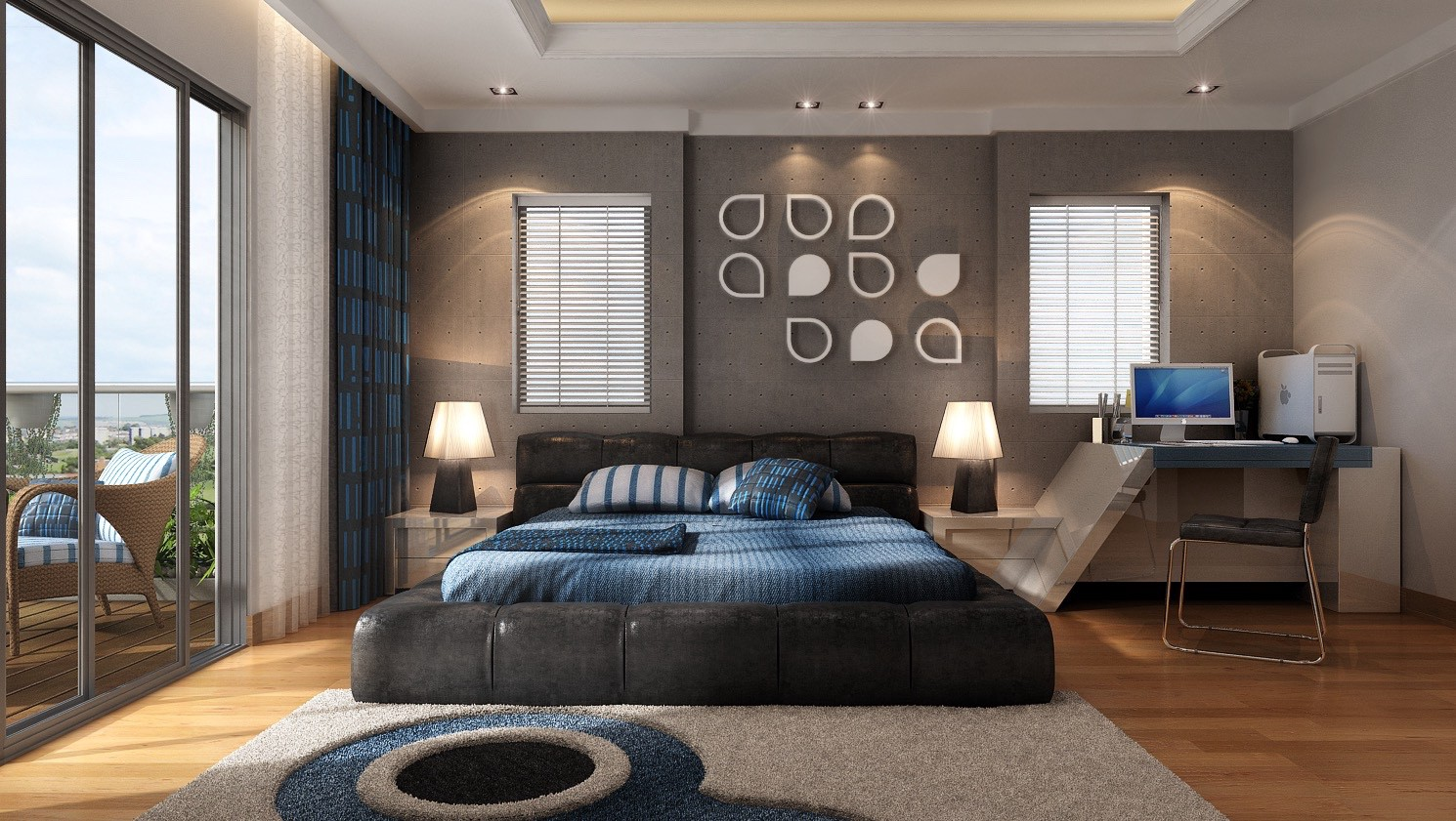Spacious bedroom design photo of goodly spacious bedroom design inspiration from hulsta home trend