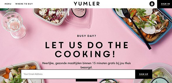 YUMLER colorful websites