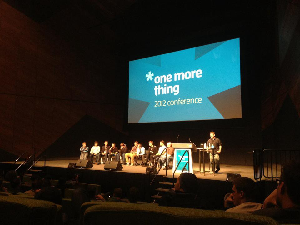 One More Thing 2012 — Main Conference – Gouline Blog