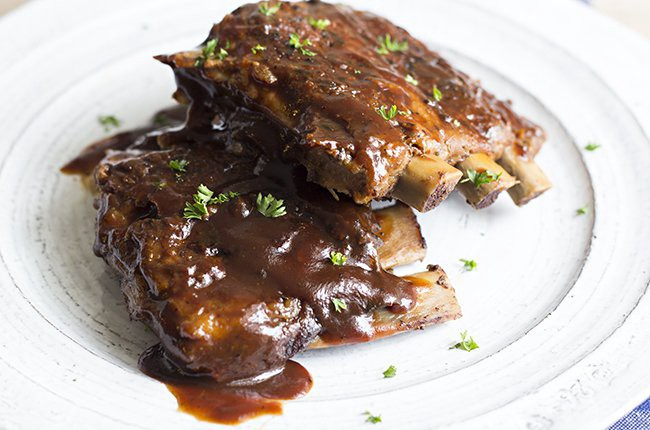 Slow-Cooker Fall-Off-The-Bone-Ribs finished image