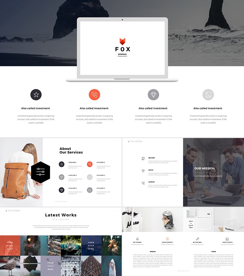 20 best powerpoint templates best digital themes medium fox ultimate powerpoint theme with awesome designs toneelgroepblik Image collections