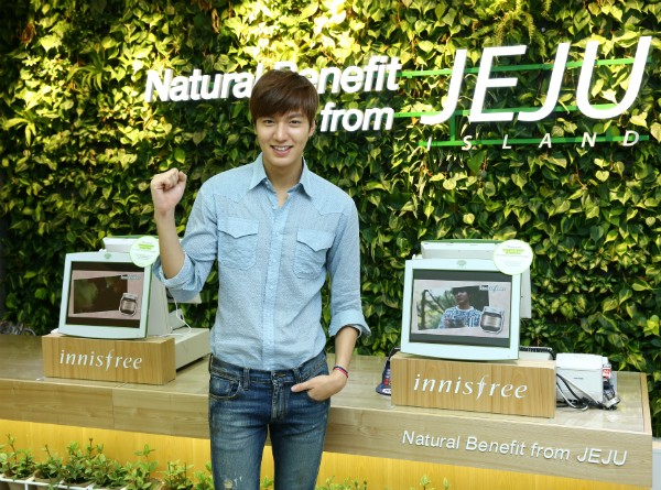 6 Most Popular Brands of Korean Beauty Products You Should Be Using - Innisfree Lee Min Ho