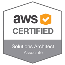 Image result for aws solutions architect badge