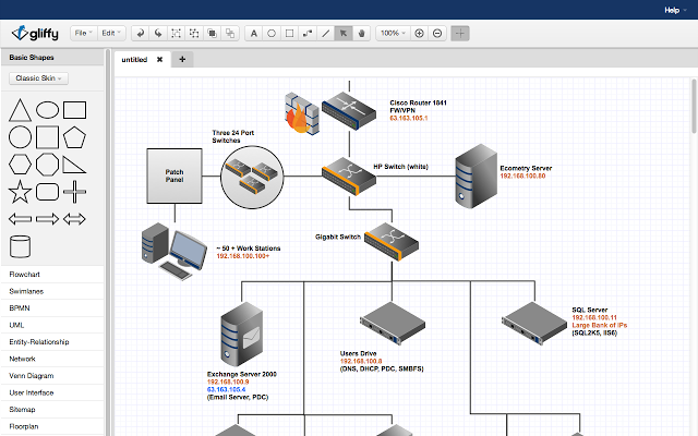 Best visio alternatives for network diagramming olivia camp medium once finished the drawing just share the read only link of your diagram to any social media by sharing and editing diagrams conveniently ccuart Images
