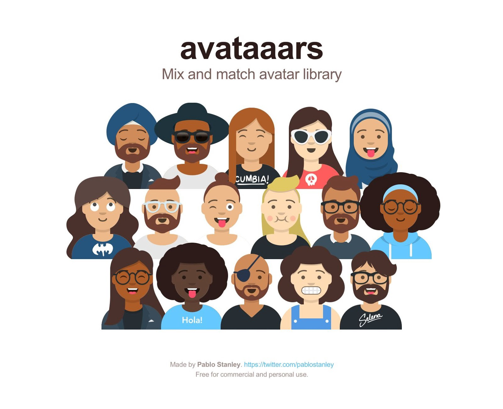 free sketch app resource mix and match avatars with a sketch library