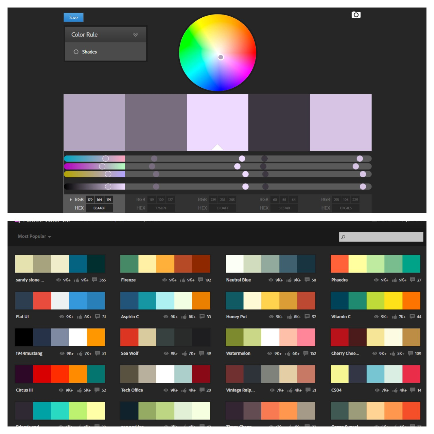 Adobe Color Cc Is An Awesome Tool That Can Sd Up Exploring Various Scheme Options