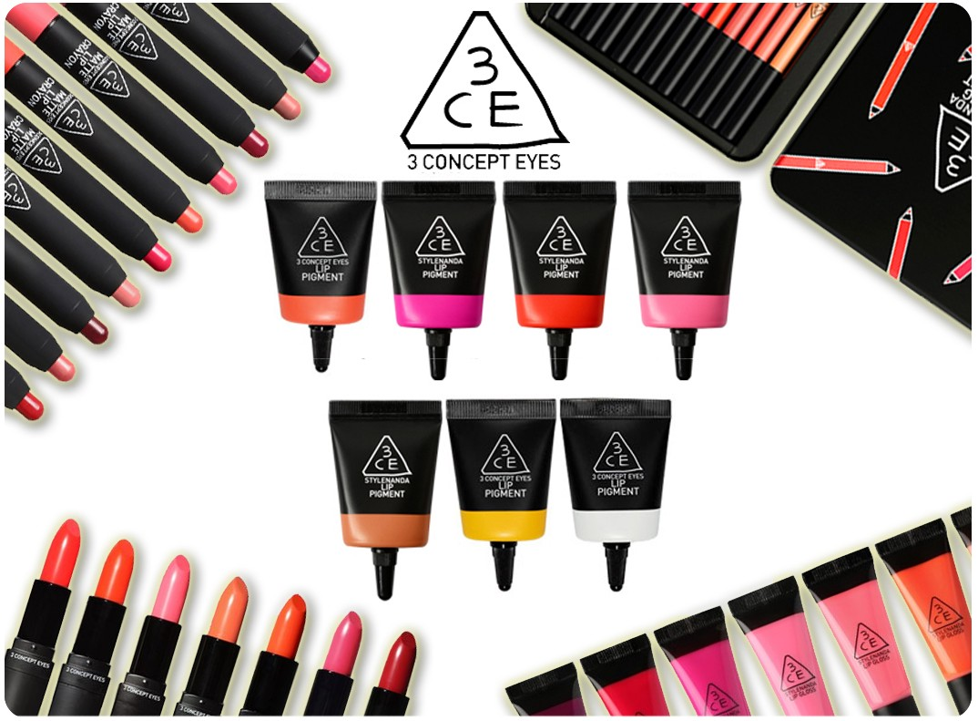 6 Most Popular Brands of Korean Beauty Products You Should Be Using - 3 Concept Eyes (3CE)