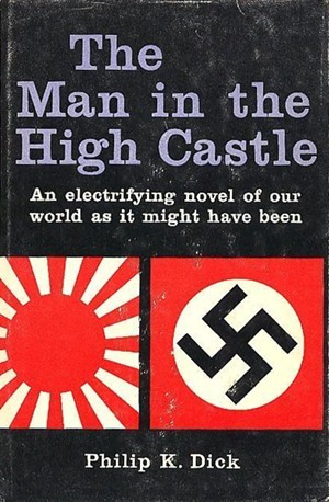 the man in the high castle by PKD, cover of first edition