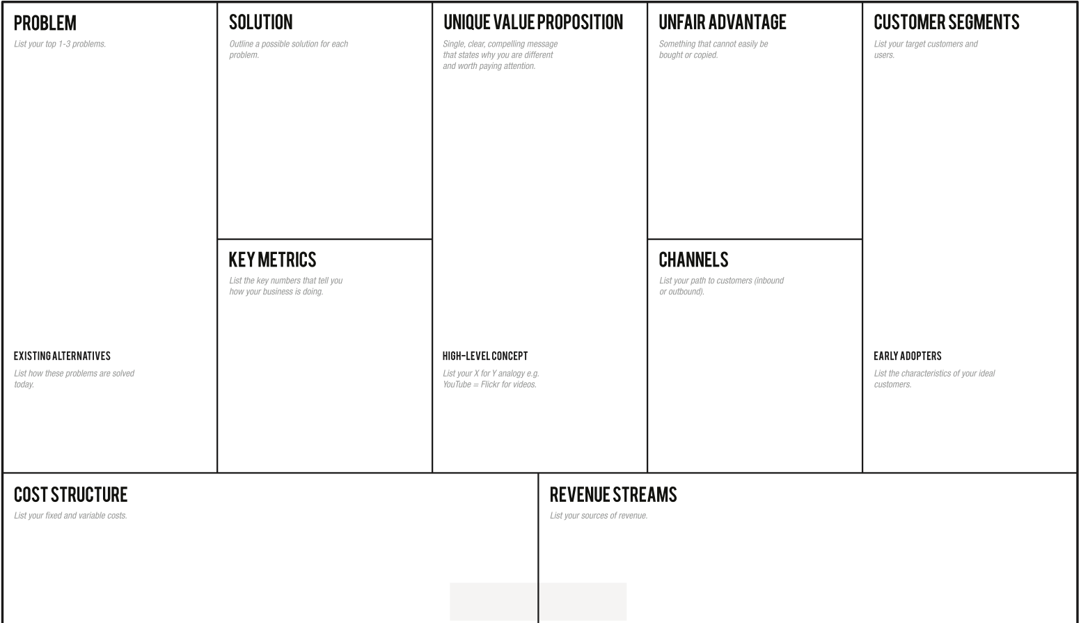 Template The Minute Business Plan For App Development Startups - Business plan template for app