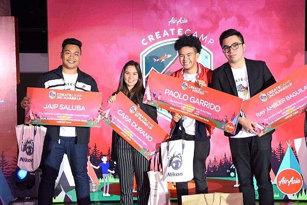 AirAsiaCreateCAMP winners