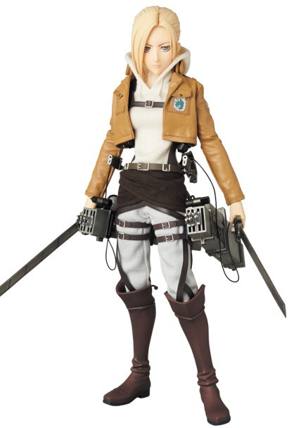 Annie Leonhart Real Action Heroes #671 Figure by Medicom Toy