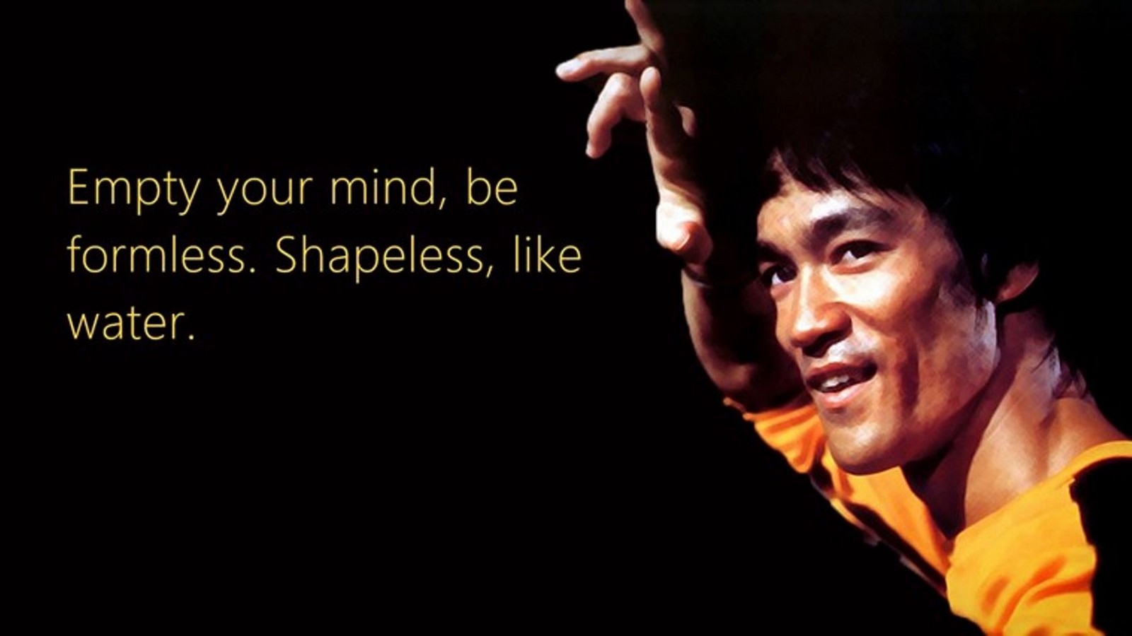 The Philosophy Of Bruce Lee Using No Way As A Way Having No