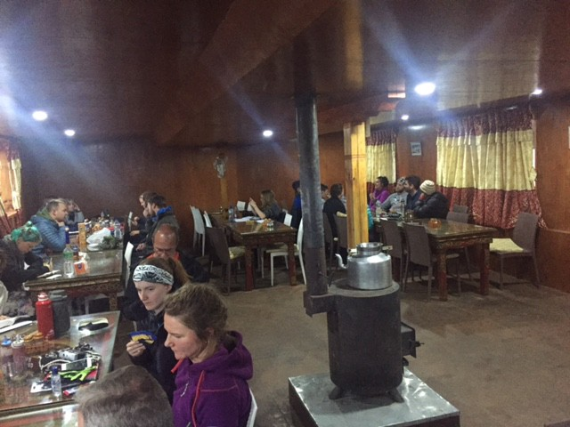 everest base camp trek tea house