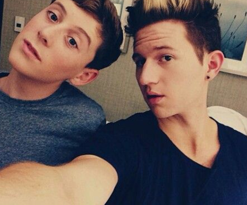 Ricky Dillon and Trevor Morgan