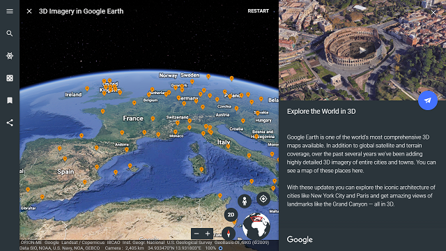 Imagery update whats new in google earth google earth and earth 3d coverage layer in google earth publicscrutiny Gallery