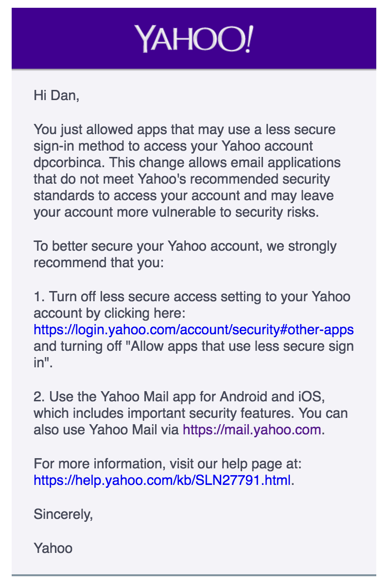 Ultimately, The Best Solution To This Issue Is To Use Oauth To Connect To  Yahoo Over Imap If You Do Not Have A Yahoo Oauth Key, Then We Highly  Recommend