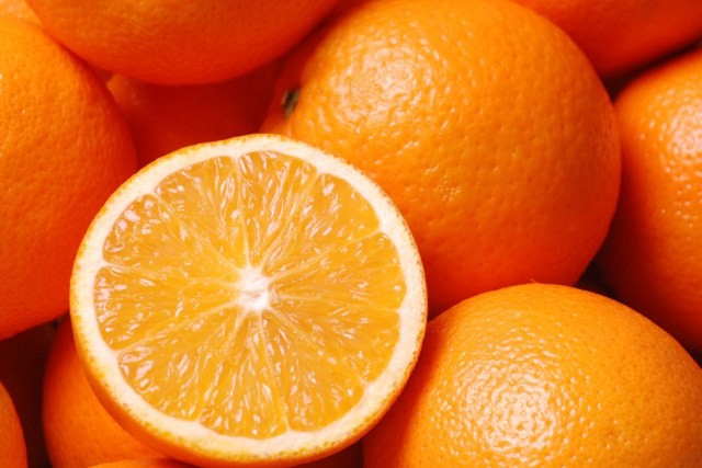 Eat some delicious oranges to get rid of hickeys