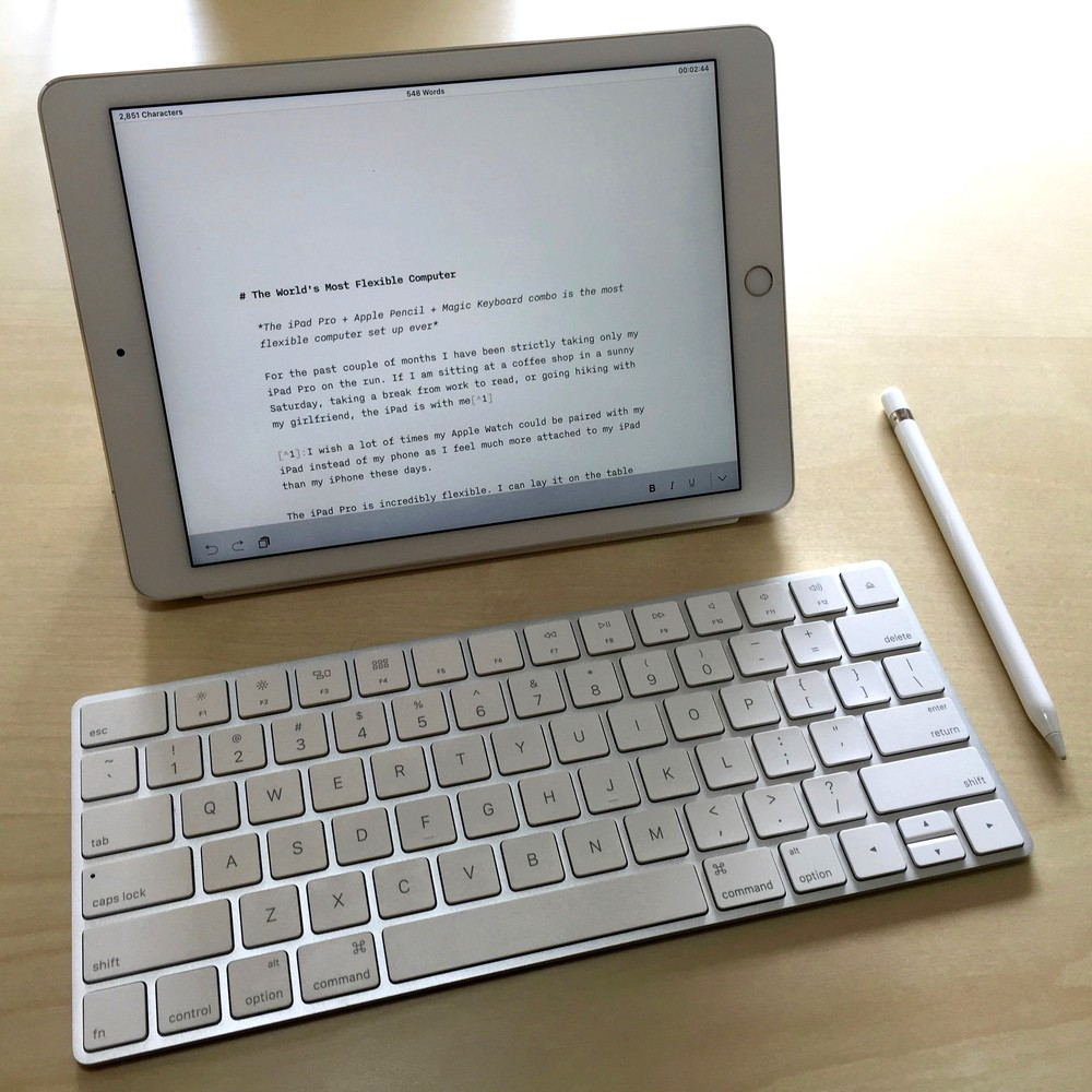 How do i hook up my apple keyboard to my ipad
