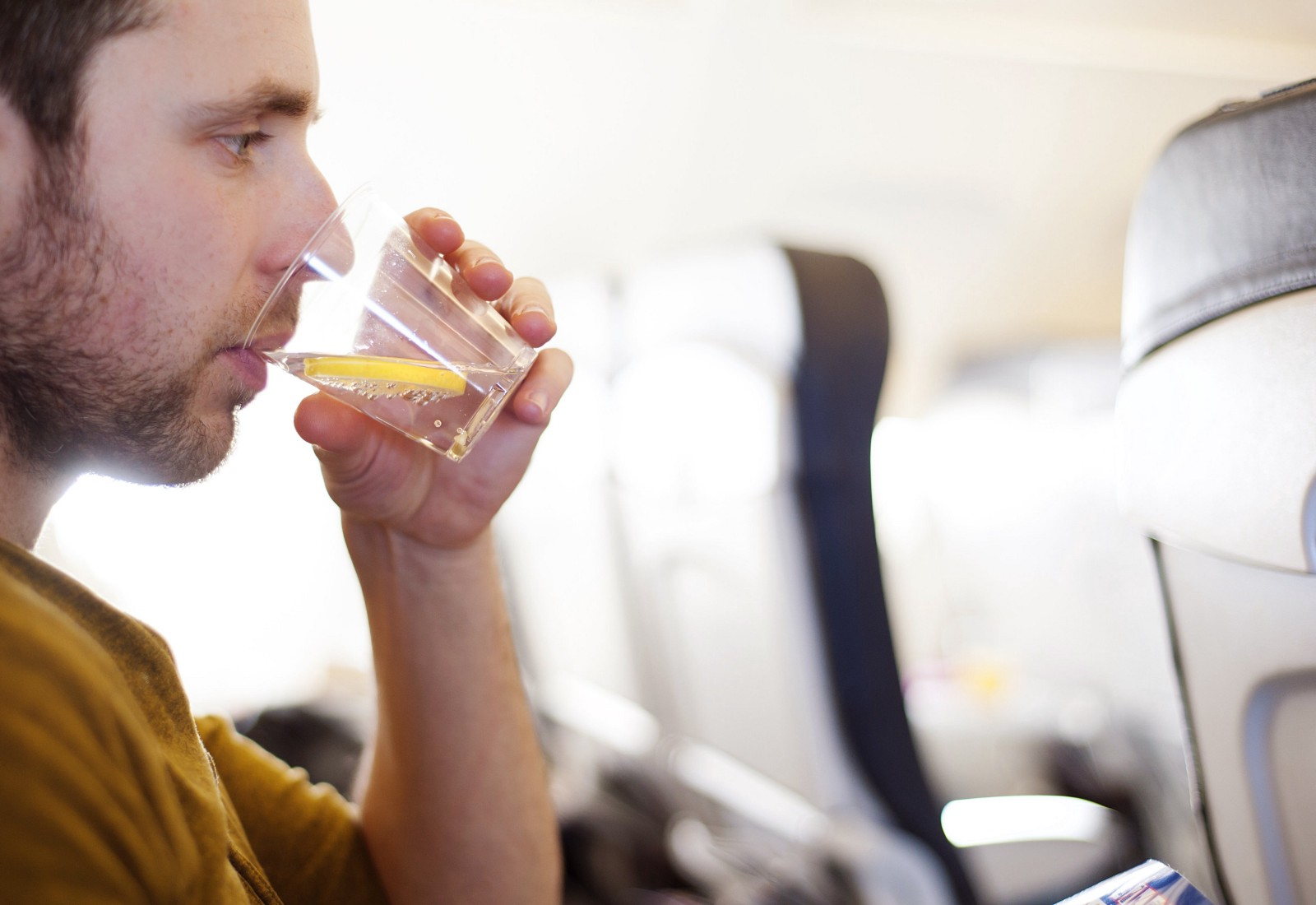 Long Haul Flight Tips: Drink Water