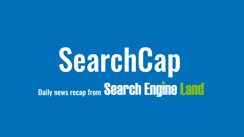 Simple Guidance For You In SearchCap.