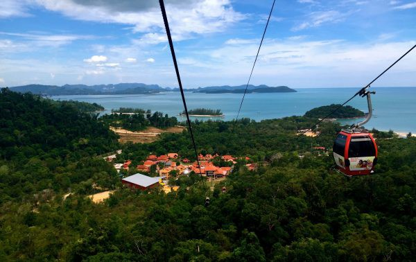 Langkawi Cable Car Photo by Dave from TravelDave.co.uk