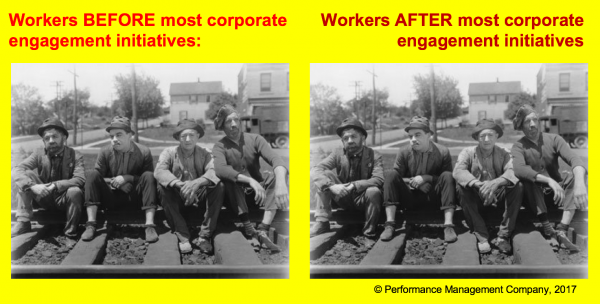 Corporate engagement programs don't work well