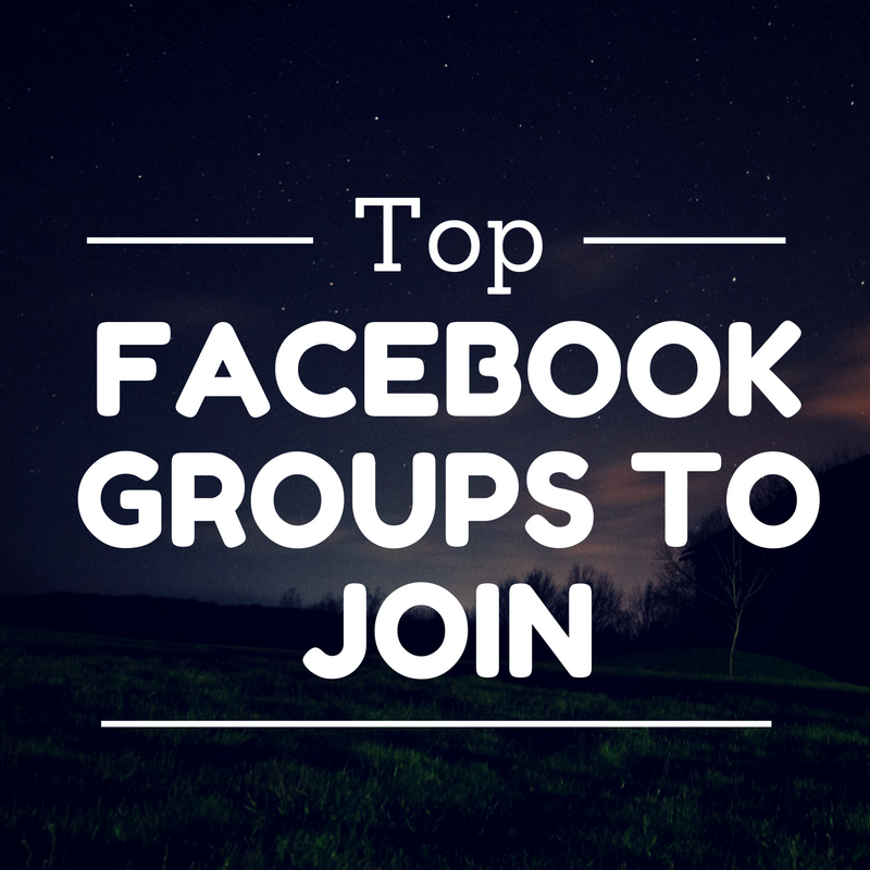Top Facebook Groups to Join
