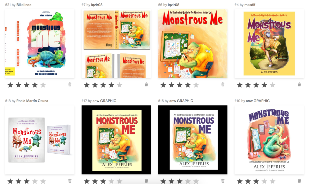 Monstrous Me Cover Options