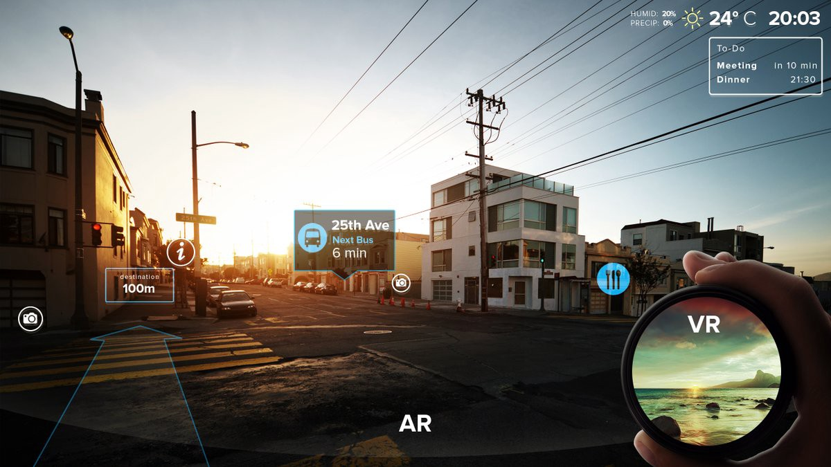 What's #AR vs #VR? We're glad you asked. Learn even more at !