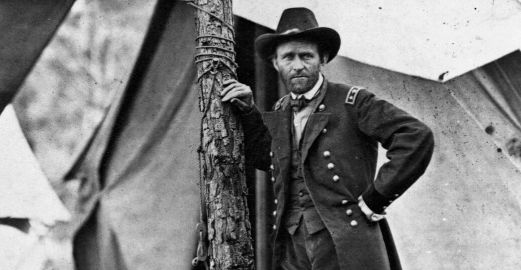 US President Ulysses S. Grant, the union army, union military leaders, the civil war. Photo Courtesy History.com