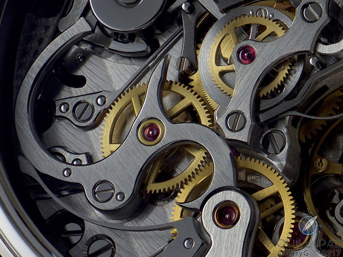 The author's peeve: clutch lever of Patek Philippe Caliber CHR 29-535 PS