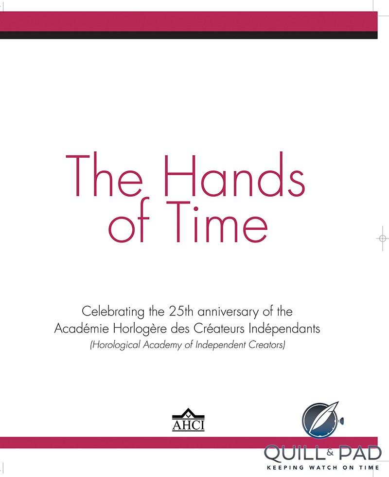 'The Hands of Time' by Ian Skellern (texts) and Peter Speake-Marin (project management)