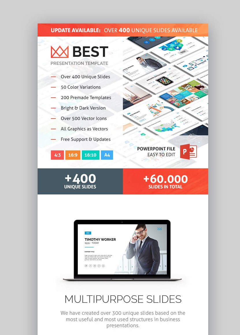 12 best powerpoint templates best digital themes medium business powerpoint data presentation template wajeb Image collections