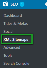 Google Search Console Get Sitemap From Yoast SEO