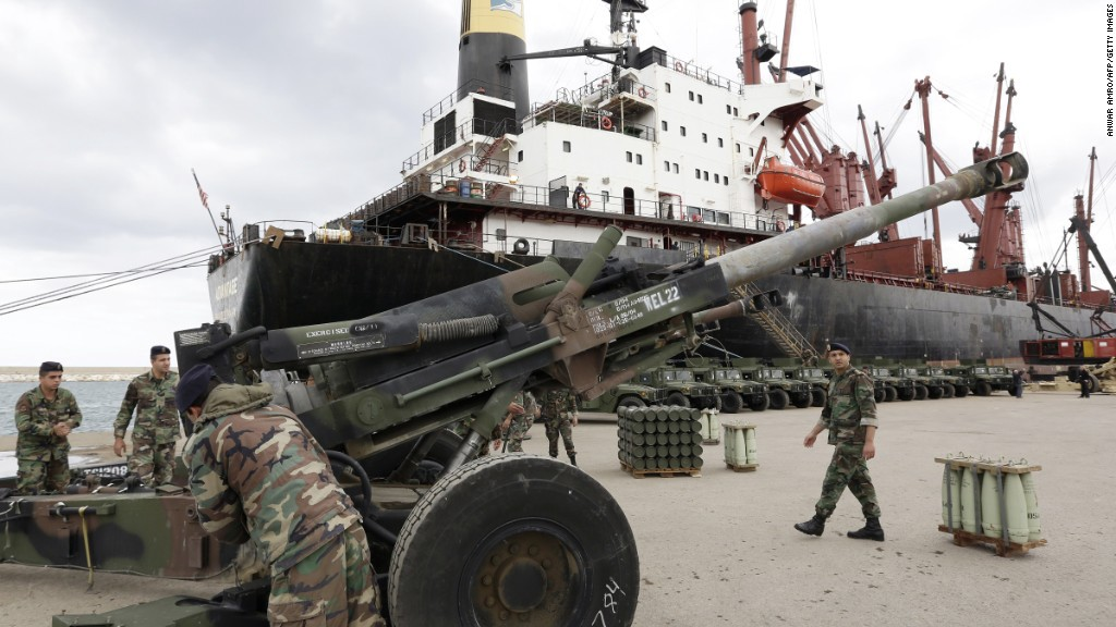 And the world's biggest arms dealer is ...
