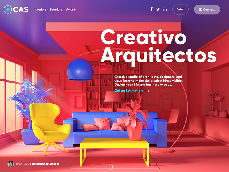 Web Design Inspiration 9 Web Interfaces With Catchy Graphics