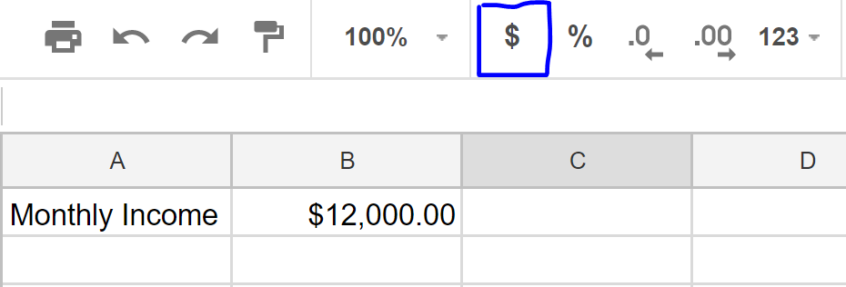 using excel and google sheets for budgeting the rundown
