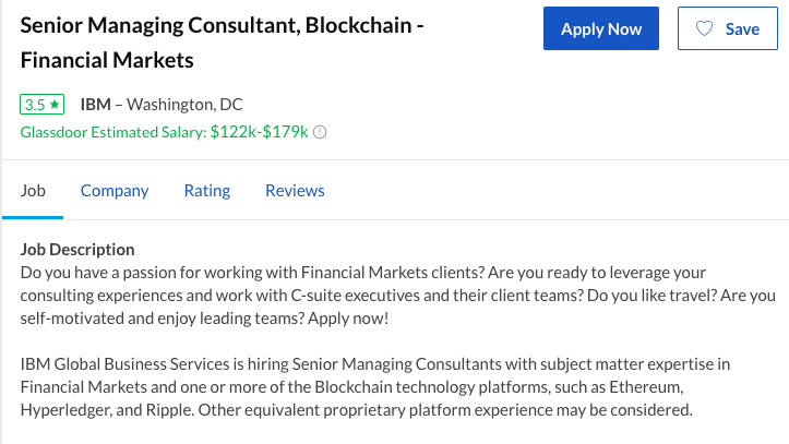 Blockchain Jobs And Salaries 2018 Report Hacker Noon