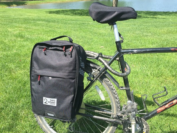 Pannier Backpack Convertible-ready for a ride